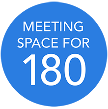 Meeting Space for 180