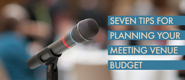Seven tips from the OLC on budgeting for events