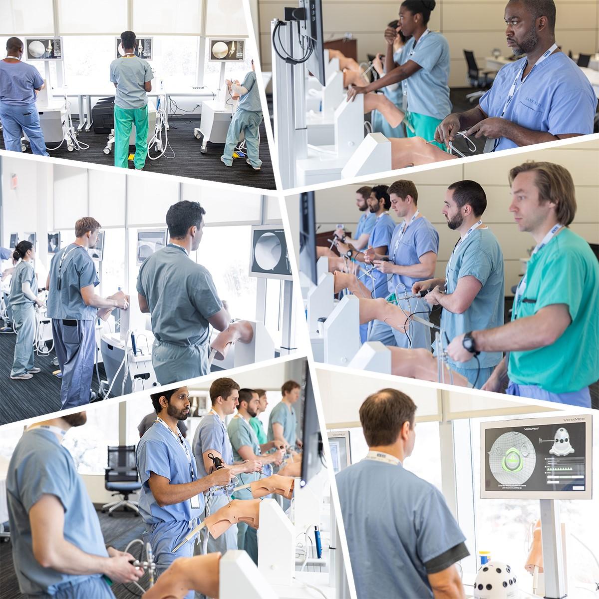 Simulator orthopedic surgerytraning course